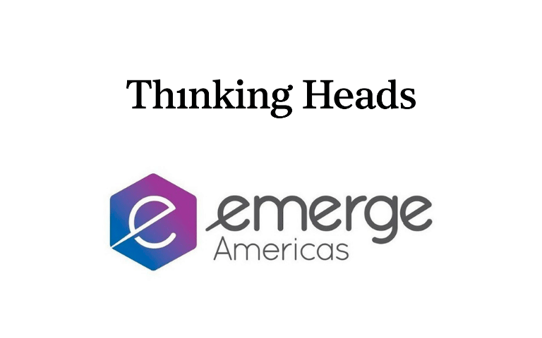 We are the official speakers bureau at eMerge Americas, reference platform on innovation