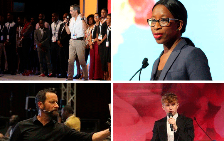 Pensadores de Thinking Heads inspiran a jóvenes líderes africanos