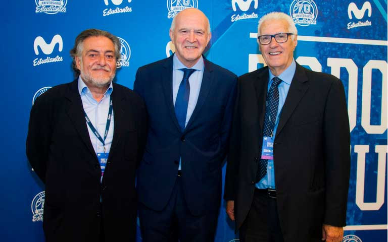 Vicente del Bosque, Lolo Sainz, Manuel Coloma y Pepu Hernández, premio 'Todos somos Estudiantes'