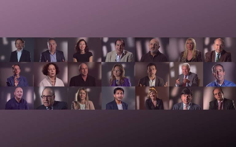 Los líderes de pensamiento comparten sus mejores ideas en 5' VISION