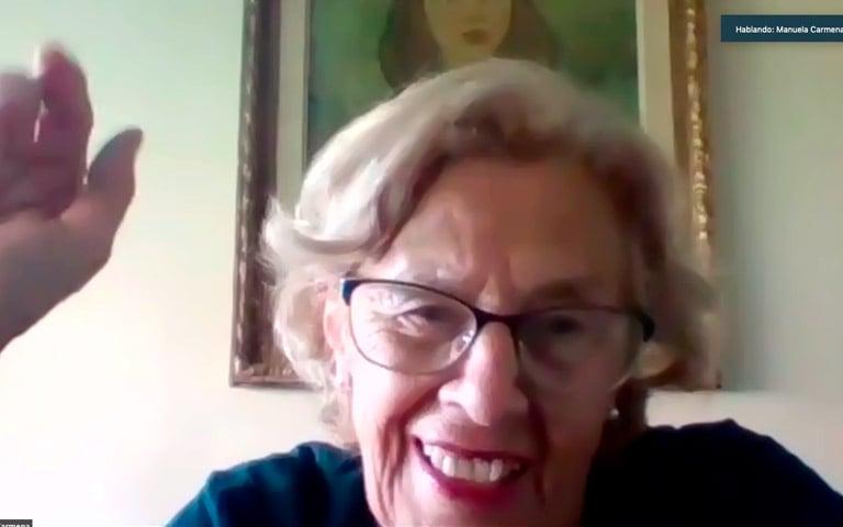 """Manuela Carmena: """"Los partidos son una solución muy pobre teniendo en cuenta la complejidad de la sociedad"""""""