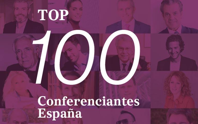 El Top 100 Conferenciantes España comienza con estos 10 speakers